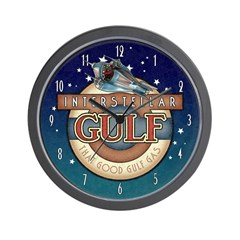 Interstellar Gulf Wall Clock