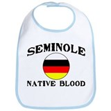 Seminole Native Blood Bib