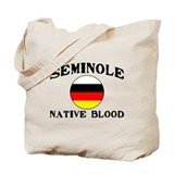 Seminole Native Blood Tote Bag
