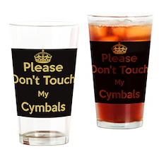 Cymbal T-shirt Drinking Glass