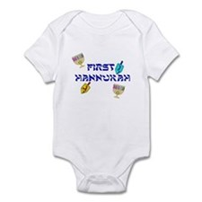 First Hannukah Infant Bodysuit