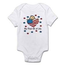 1st 4th of July Baby/Toddler bodysuits