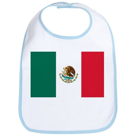 Mexico Flag Bib