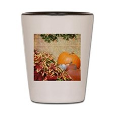 Fall Colors and Leaves Shot Glass