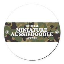 Cute Miniature Round Car Magnet