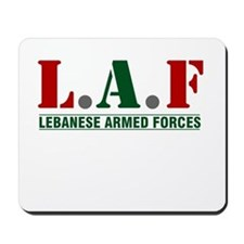 Lebanese Armed Forces Mousepad