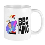 "FATHER's DAY GIFT: ""BBQ King"" Mug (white"