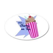 Cherry On Top Wall Decal