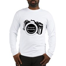 Camera Design Long Sleeve T-Shirt