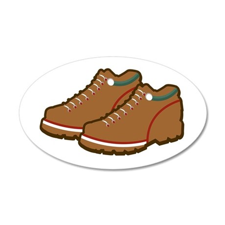 Hiking Shoes Wall Decal