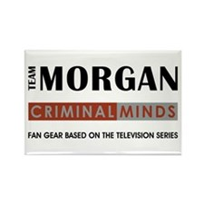 TEAM MORGAN Rectangle Magnet (100 pack)
