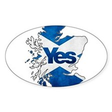 Yes for Scotland Decal