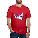 Heb. 'Brit B'li Milah' Men's Fitted T-Shirt (dark)