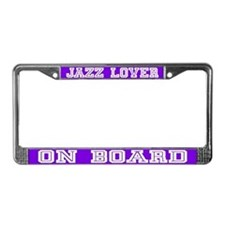 Jazz Lover License Plate Frame