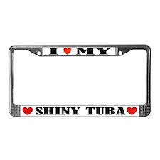 Funny Tuba License Plate Frame