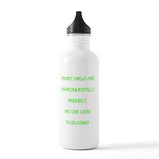 Short girls environmen Water Bottle