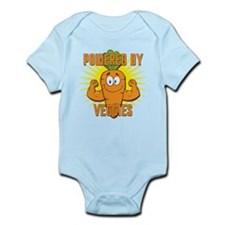 Powered by Veggies Infant Bodysuit