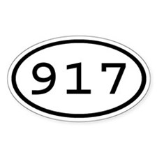 917 Oval Oval Decal