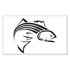 Striped bass Decal