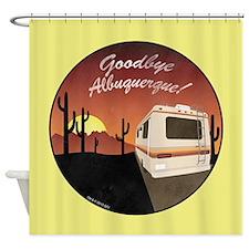 Goodbye Albuquerque Shower Curtain