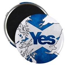 Yes for Scotland Magnet
