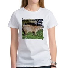 Capybara with Rocks Tee