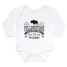 Yellowstone Vintage Long Sleeve Infant Bodysuit