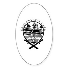 Cute Crystal lake camp Decal