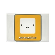 Marshmallow Rectangle Magnet