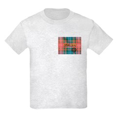 Wilson Tartan & Badge Kids Light T-Shirt