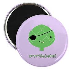 "Arrrtichoke! 2.25"" Magnet (100 pack)"
