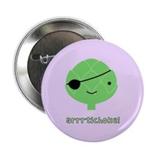 "Arrrtichoke! 2.25"" Button (100 pack)"