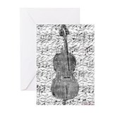 &quot;Sheet Music&quot; Greeting Cards (Pk of 10)
