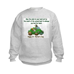 Irish Powered Kids Sweatshirt