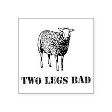 Two Legs Bad Sheep Sticker