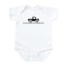 Real Trucks Infant Bodysuit