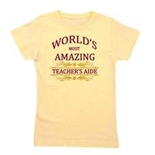 Teacher's Aide Girl's Tee