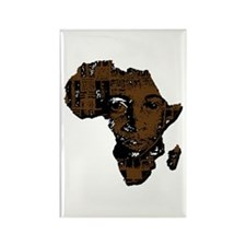 Africa Rectangle Magnet