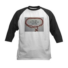 With God all things are Possible Baseball Jersey