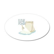 Flour Power Wall Decal