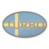 Swedish Turbo Oval Decal