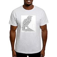 The Raven Wordle T-Shirt