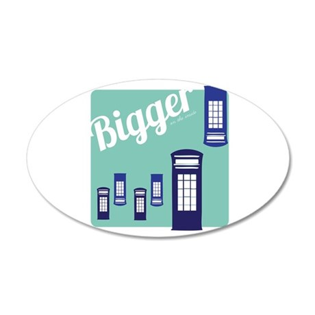 Bigger On The Inside Wall Decal