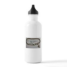 Don't just Display it, Pray it! Water Bottle