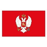 Montenegro Rectangle Decal