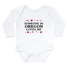 Unique Oregon Long Sleeve Infant Bodysuit
