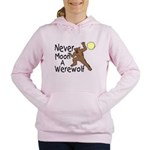 Moon A Werewolf Women's Hooded Sweatshirt