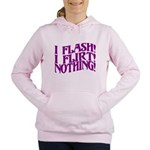 Flirty Flasher Women's Hooded Sweatshirt