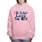 Love The 80's Women's Hooded Sweatshirt