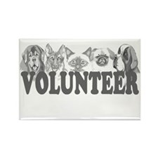 Volunteer Rectangle Magnet (10 pack)